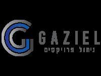 עיצוב לוגו מקצועי עבור חברת ניהול הפרויקטים גזיאל