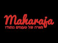 עיצוב לוגו לרשת מהרג'ה המייבאת ומשווקת מזון הודי